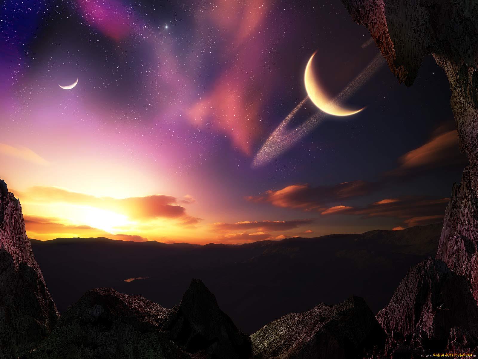совместной картинки космоса заката хлопка сочетай низом